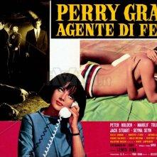 Perry Grant agente di ferro: la lobbycard del film