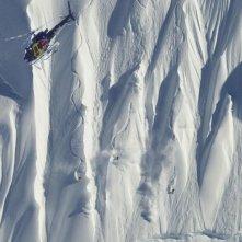 The Art of Flight: un'immagine del documentario sulle imprese dello snowboarder Travis Rice e dei suoi amici