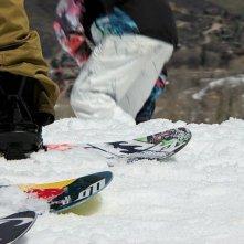The Art of Flight: un'immagine tratta dal documentario sullo snowboarding estremo