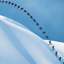 The Art of Flight: una scena del documentario sulle imprese dello snowboarder Travis Rice e dei suoi amici