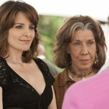 Tina Fey nel film Admission accanto a Lily Tomlin