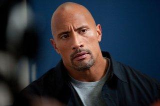 Dwayne 'The Rock' Johnson in una scena del film Snitch - L'infiltrato
