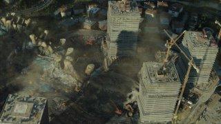 Pacific Rim: la città dopo l'attacco dei Kaiju
