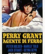 Perry Grant agente di ferro: locandina del film
