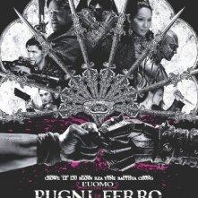 L'uomo con i pugni di ferro: la locandina italiana del film