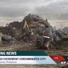 Pacific Rim: anche il telegiornale dà notizia dell'attacco dei Kaiju