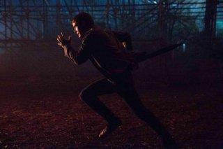 Percy Jackson e gli dei dell'olimpo: Il mare dei mostri: Logan Lerman in una scena del film