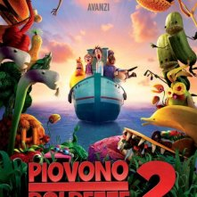 Piovono Polpette 2: il teaser poster italiano del film