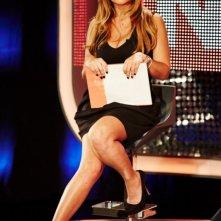 Selvaggia Lucarelli durante il programma 'Celebrity Now'