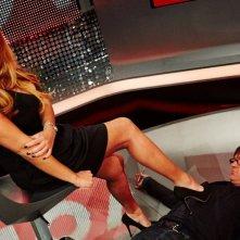 Selvaggia Lucarelli 'sottomette' Filippo Facci a 'Celebrity Now'
