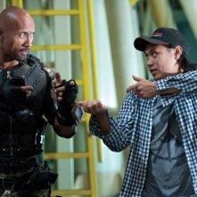G.I. Joe: La vendetta: Dwayne Johnson sul set con Jon M. Chu