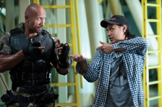 G.I. Joe: La vendetta: Dwayne Johnson sul set con Jon M. Chu