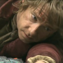 Martin Freeman sul set di The Hobbit: La desolazione di Smaug