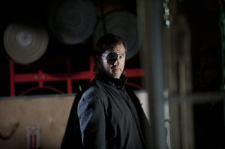 The Walking Dead: Il Governatore David Morrissey in una scena dell'episodio Vendetta