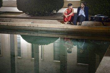 Nina: Diane Fleri e Luca Marinelli in una scena del film