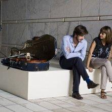 Nina: Luca Marinelli sul set del film con la regista Elisa Fuksas