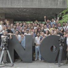 No: la troupe del film in una foto promozionale