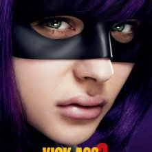 Kick-Ass 2: character poster di Chloe Moretz, alias Hit Girl