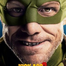 Kick-Ass 2: character poster di Jim Carrey, alias Colonel Stars and Stripes