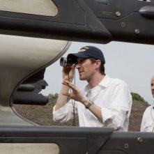 Oblivion: il regista Joseph Kosinski sul set del film