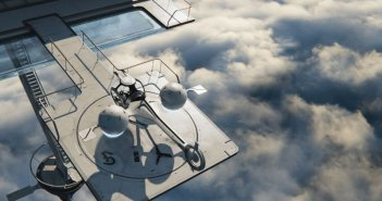 Oblivion: una scena dall'alto tratta dal film