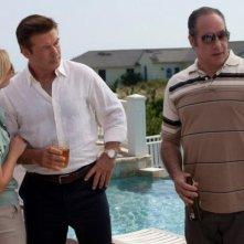 Blue Jasmine: Cate Blanchett, Alec Baldwin ed Andrew Dice Clay in una scena del film