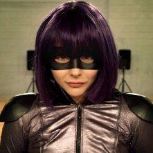 Kick-Ass 2: Chloë Grace Moretz in una scena del film nei panni di Hit-Girl