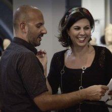 Passione sinistra: il regista Marco Ponti con Geppi Cucciari sul set