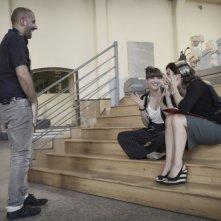 Passione sinistra: Valentina Lodovini e Geppi Cucciari sul set con il regista Marco Ponti