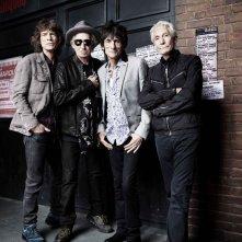 The Rolling Stones Crossfire Hurricane: lo storico gruppo in una foto promozionale