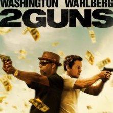 2 Guns: la locandina del film