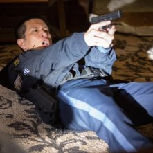 Grimm: Reggie Lee in una scena dell'episodio Quill