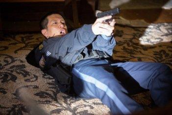 Grimm: Reggie Lee in una scena dell'episodio Quill