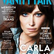 Carla Bruni sulla cover di Vanity Fair (aprile 2013)