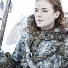 Game of Thrones: Rose Leslie in una scena dell'episodio Valar Dohaeris
