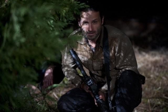 The Walking Dead Andrew Lincoln In Una Scena Dell Episodio Nelle Tombe 270358