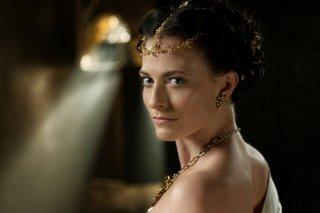 Da Vinci's Demons: Lara Pulver in una foto promozionale della serie