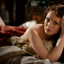 Da Vinci's Demons: Laura Haddock in una foto promozionale della serie