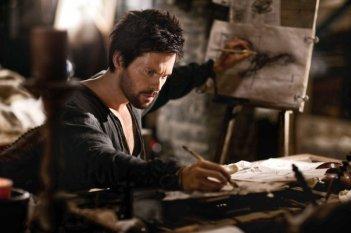 Da Vinci's Demons: Tom Riley in una scena della serie