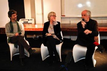 Film Factory Italia: Toni Servillo con Piera Detassis e Silvio Soldini