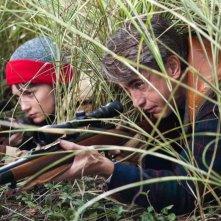 Stoker: Mia Wasikowska con Dermot Mulroney in una scena del film