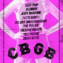 CBGB: la locandina del film
