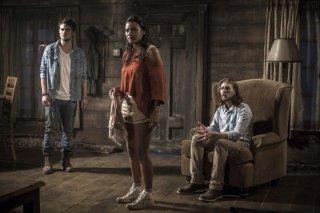 La casa: Shiloh Fernandez, Jessica Lucas e Lou Taylor Pucci in una scena