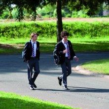 Nella casa: i due compagni di scuola Bastien Ughetto e Ernst Umhauer in una scena