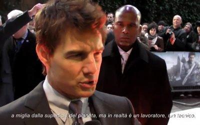 Oblivion - Il nostro video esclusivo sulla premiere di Londra