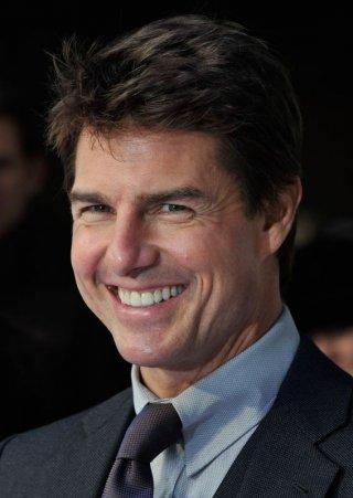 Oblivion: un bel primo piano di Tom Cruise sul red carpet della premiere di Londra
