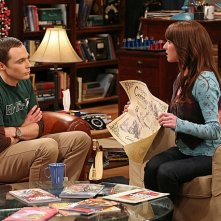 The Big Bang Theory: Jim Parsons e Margo Harshman nell'episodio The Tangible Affection Proof