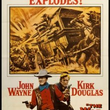 Carovana di fuoco: la locandina del film