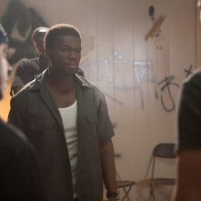Fire with Fire: il  rapper 50 Cent in una scena del film