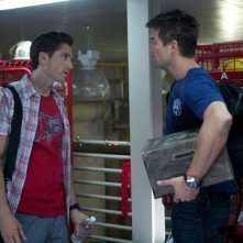 Fire with Fire: Josh Duhamel in una scena con Eric Winter